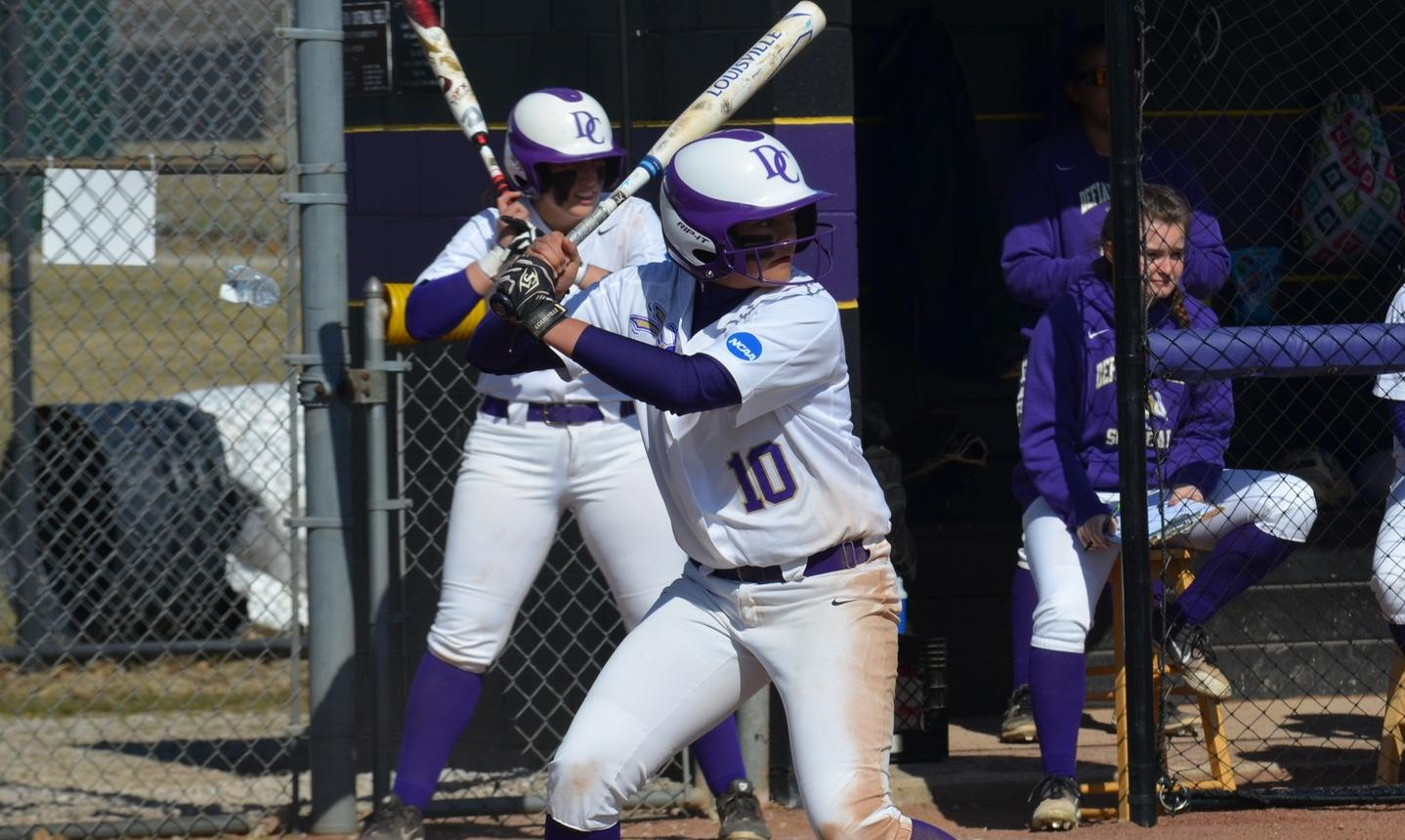 Bauer, Hubble Homer to Lead Softball to Sweep of Rose-Hulman