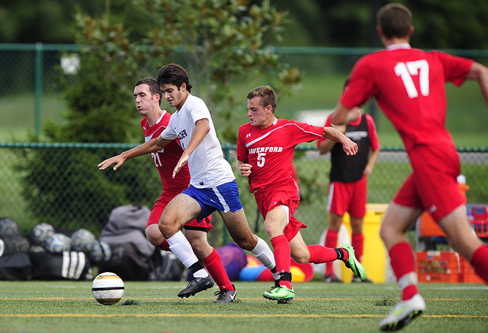 No. 6 Men's Soccer Rolls Past Western New England, 5-0