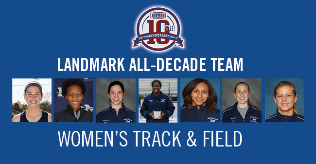 Seven Greyhounds Selected to Landmark Conference Women's Indoor Track & Field All-Decade Team