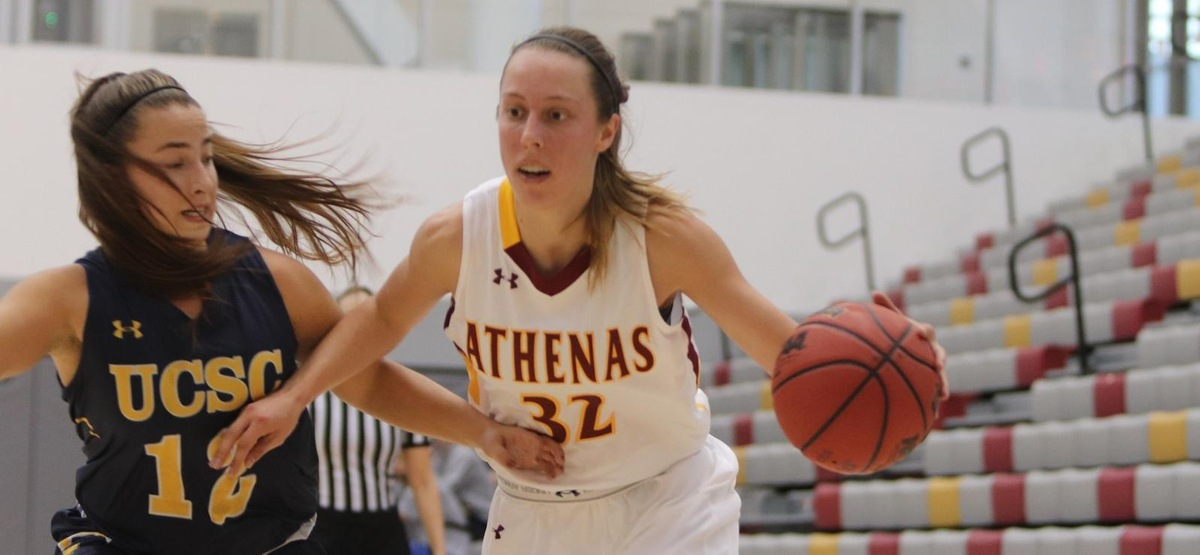 Maya Love Steal Helps CMS Women's Basketball Hang On for Big Road Win over Chapman