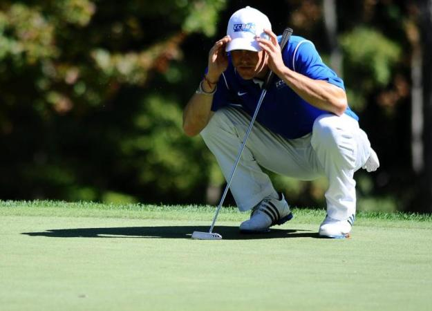 Men's Golf Finishes T10th at UCONN