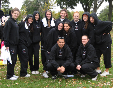 Molloy Volleyball Walks to Fight Off Childhood Cancer