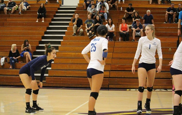 Chargers Fall to the Hornets in Four Sets