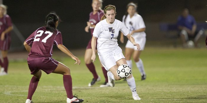 Poets can't spoil Redlands senior day; Drop season finale 4-0