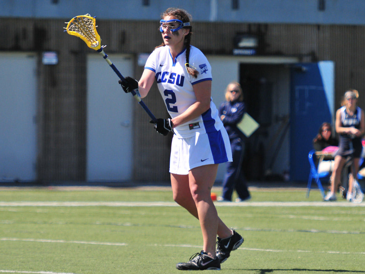 Women's Lax Falls to Sacred Heart 12-4 on Senior Day