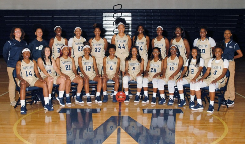 2017-18 NCWC Women's Basketball Team