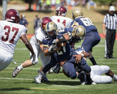 Gallaudet picks off Apprentice en route to 24-point victory