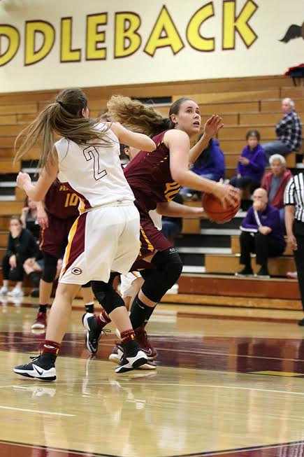 Alisa Shinn led the Lancers over Saddleback in a playoff win in Mission Viejo, photo by Richard Quinton.