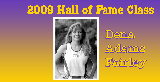 Dena Adams Fairley first from women's track in Hall of Fame