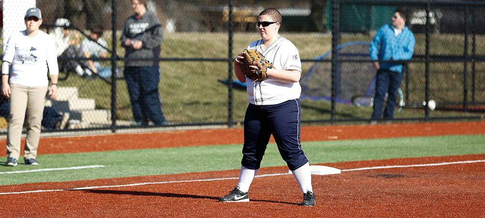 Bison lose leads against Wilson in NEAC doubleheader sweep