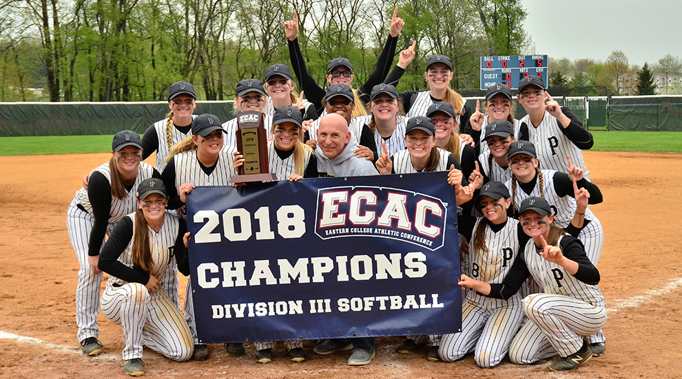Softball Crowned ECAC Champs with Dominant Victory