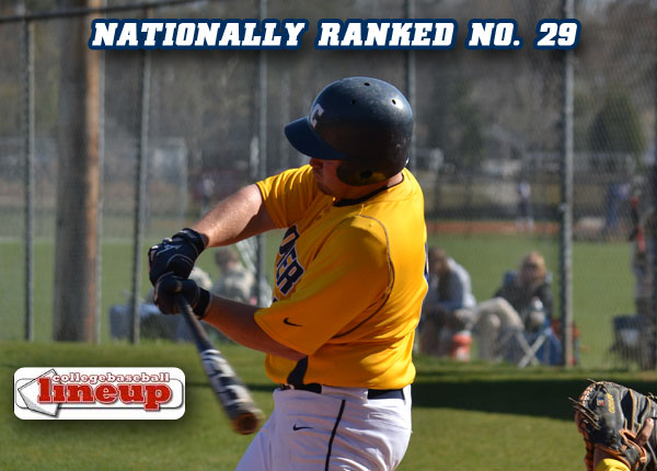 Coker Baseball Team Ranked Nationally