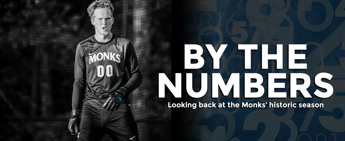 BY THE NUMBERS: 2017 MEN'S SOCCER