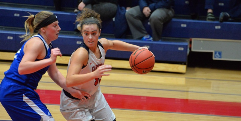 Duffy, Hall Register Double-Doubles in Setback to Glenville State