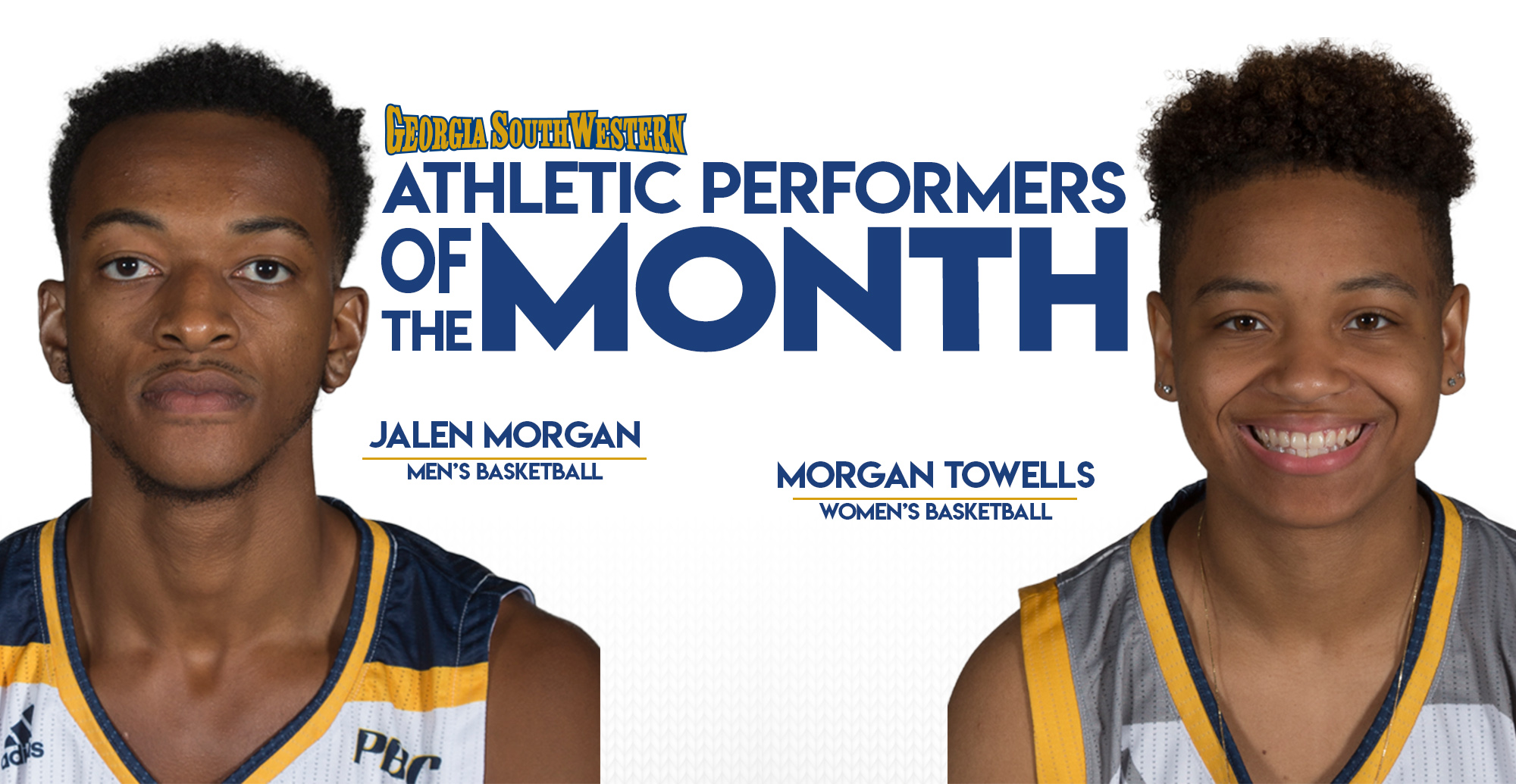 Morgan and Towells Named Top Performers in November