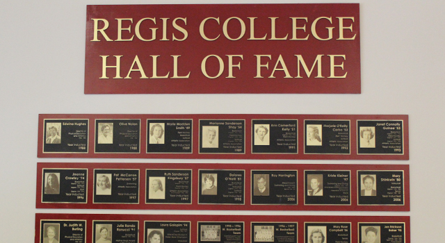 Regis Accepting Nominations for Hall of Fame Induction Class of 2019