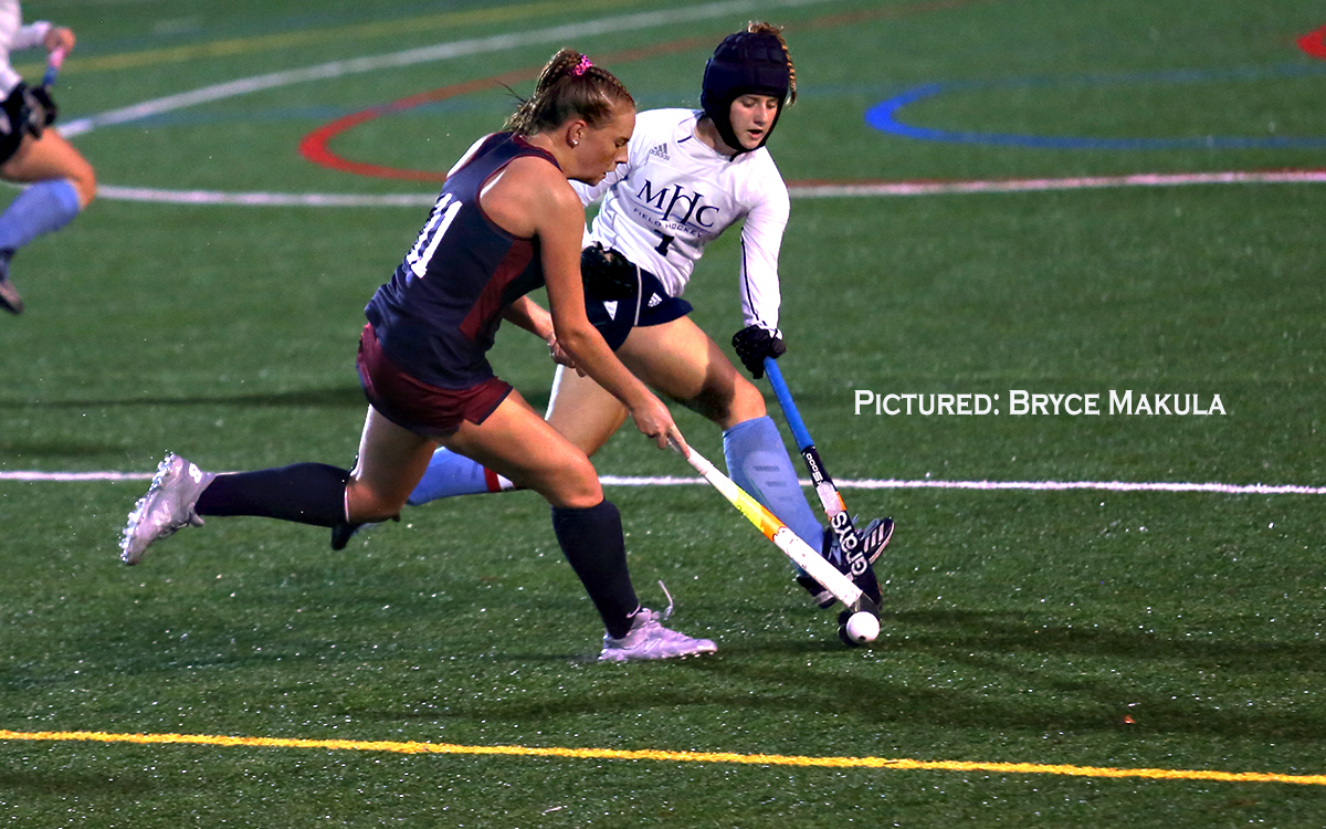 Field Hockey: Mount Holyoke Scores Twice in Two Minutes in Second Half to Break Open Tight Match in 3-0 Win