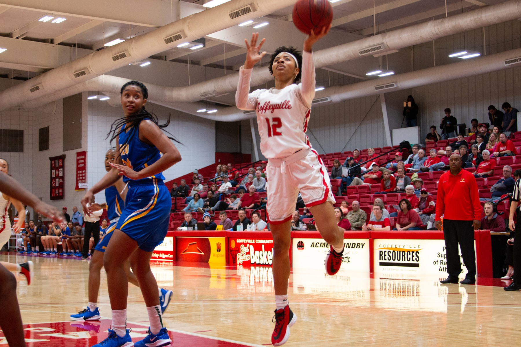 Strong Second Half Powers Red Raven Women's Basketball Past Northern OK-Tonkawa 84-57, Ravens Move to 9-0 on Season