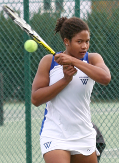 MIT Hands Wellesley Tennis its First NEWMAC Defeat