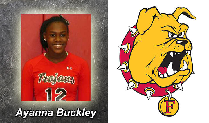 Ferris State Volleyball Completes Recruiting Class By Adding Ayanna Buckley