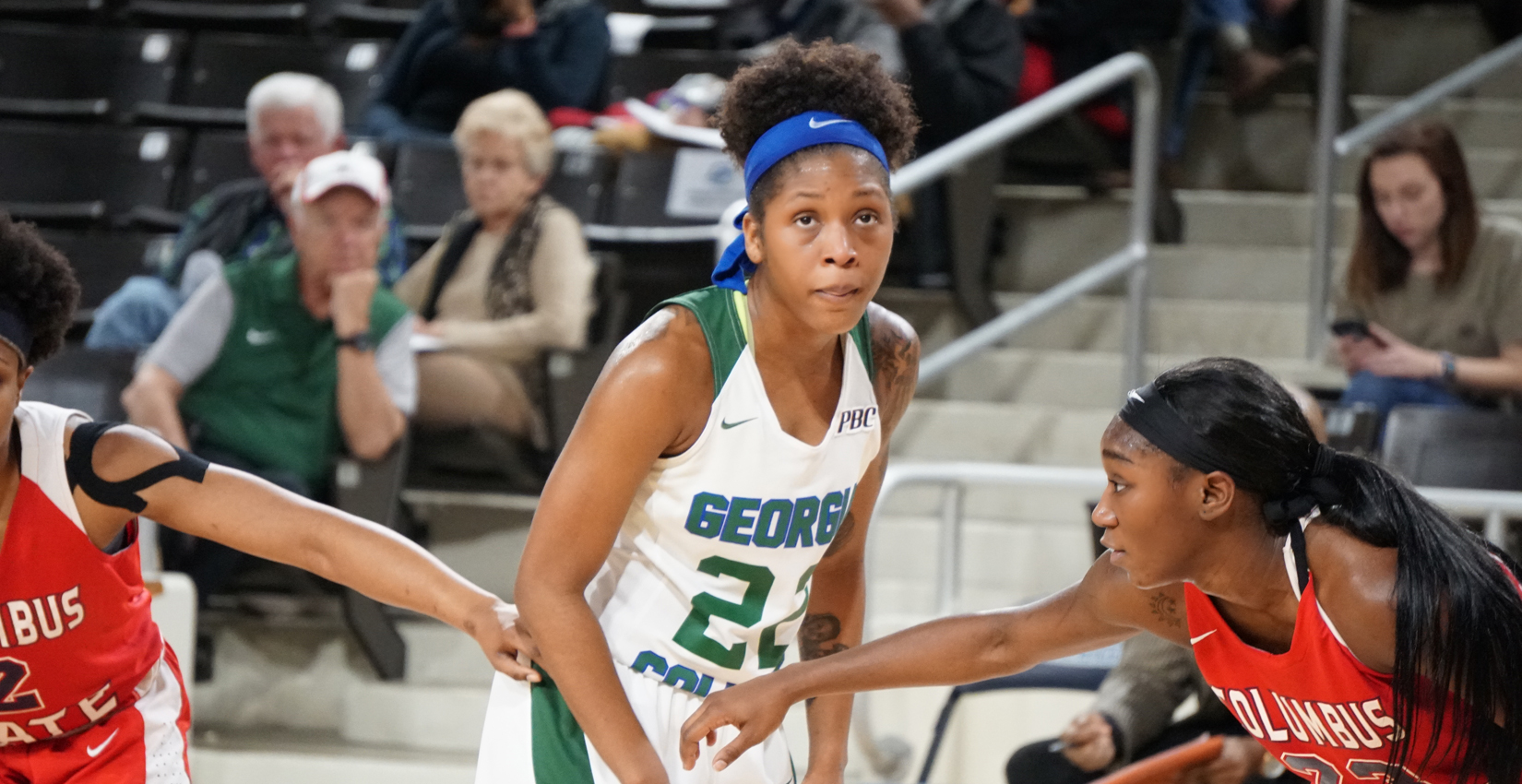 GC Women's Basketball Cruises to Win Over Columbus State, 71-58