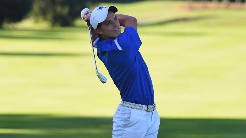 Men's Golf in Ninth Place After Day One of Connecticut Cup