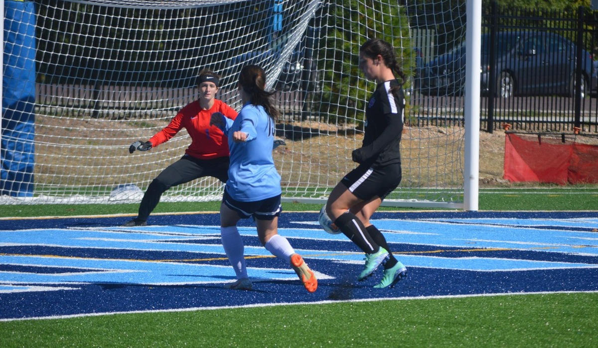 Gundy Hat Trick Leads Westminster Women's Soccer Over Iowa Wesleyan