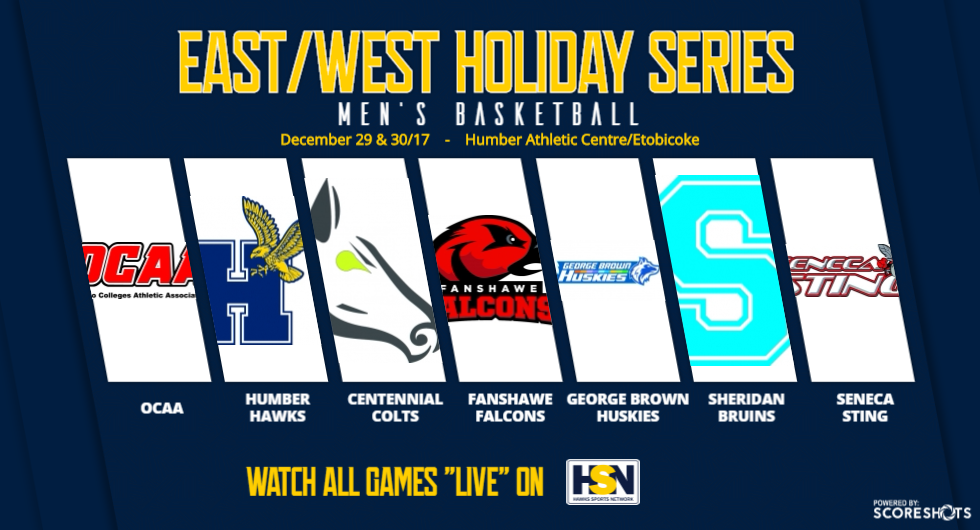 MEN'S BASKETBALL TO HOST ANNUAL EAST/WEST HOLIDAY SERIES