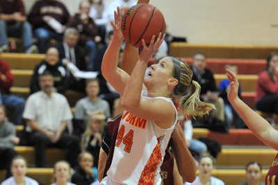 Women's basketball survives scare at Central