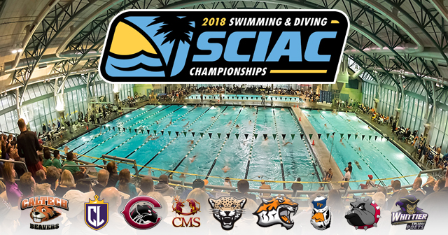 SCIAC Men's and Women's Swimming & Diving Championships - Feb. 21-24, 2018