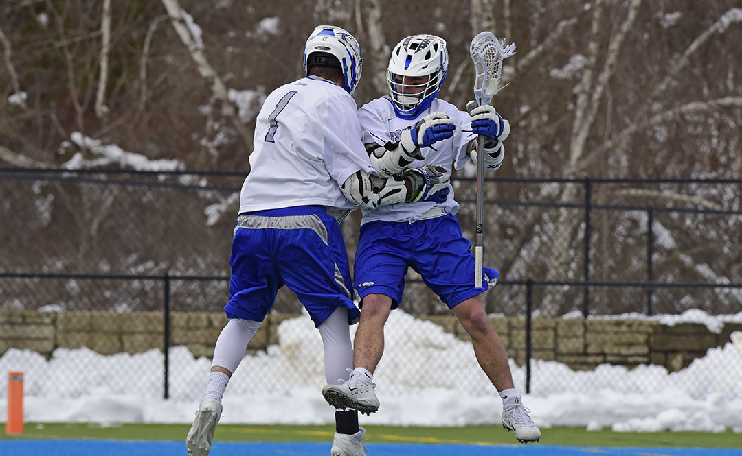 NCAA Records Fall as Men's Lacrosse Blows Out Felician 34-3
