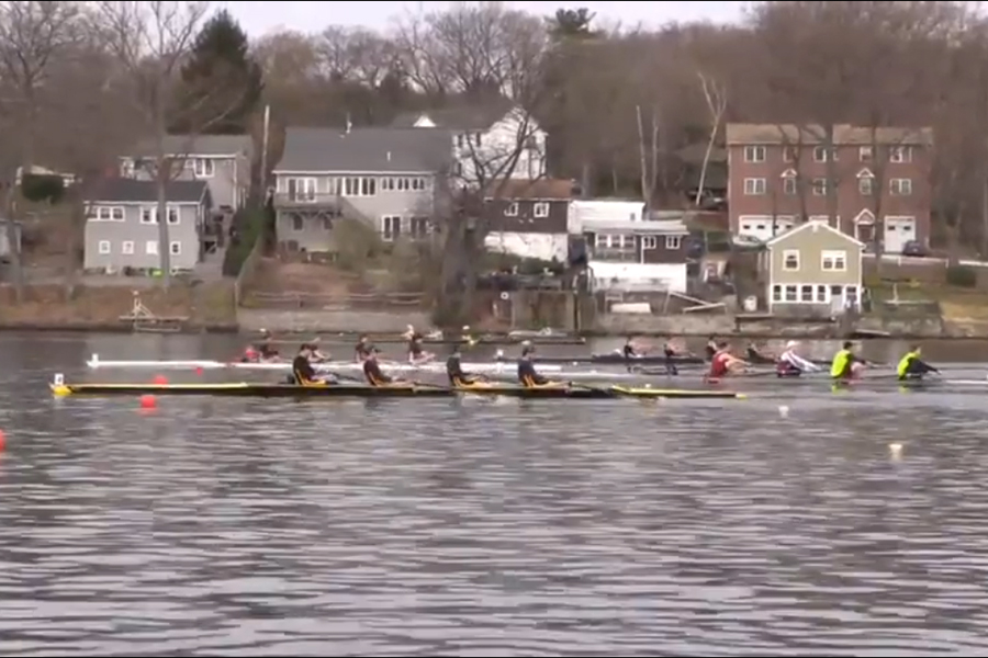Rowing Has Strong Showing at Knecht Cup