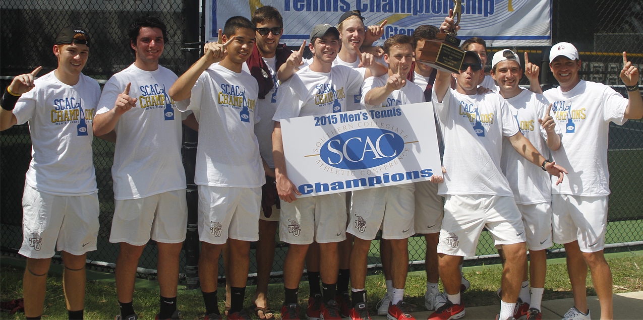 Trinity Earns 20th SCAC Men's Tennis Championship