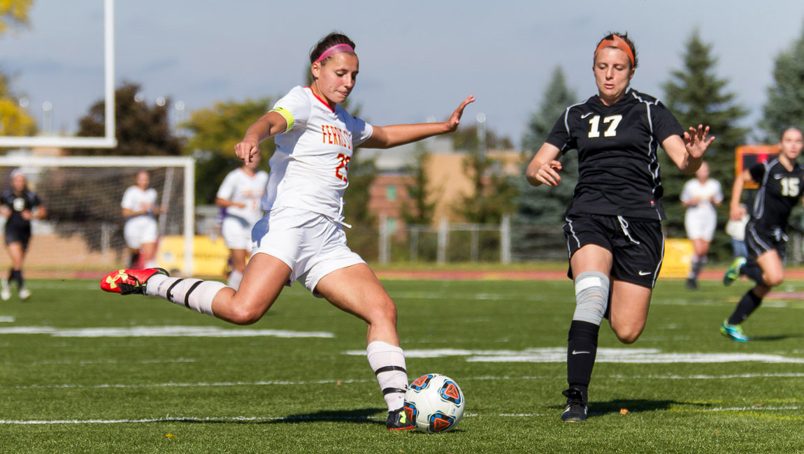 Third-Straight Shutout Pushes Ferris State Women's Soccer To Senior Day Victory