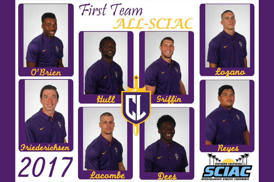 Twelve Kingsmen Earn All-SCIAC Honors