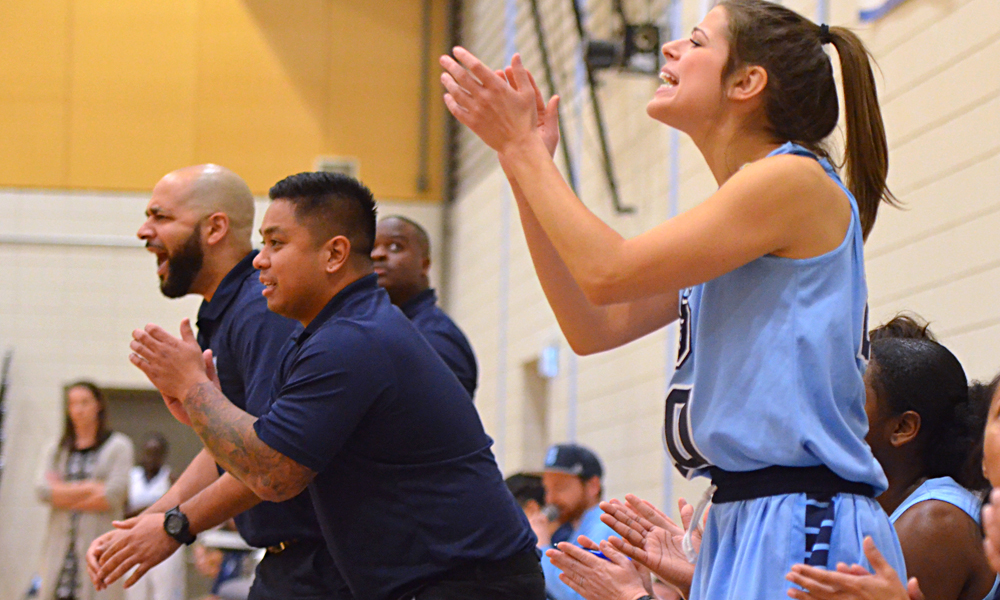 Big first quarter powers women's basketball past Conestoga