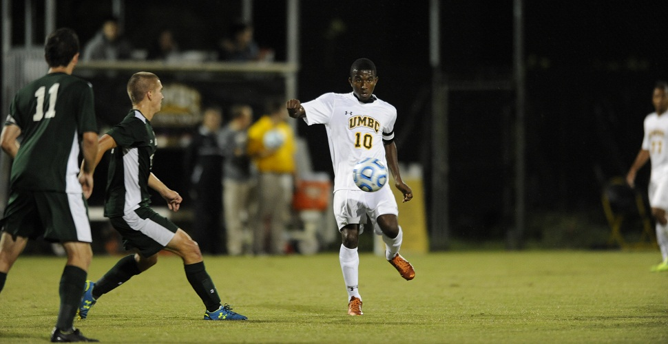 Men's Soccer Blanks Binghamton, 1-0, to Clinch AE Playoff Berth