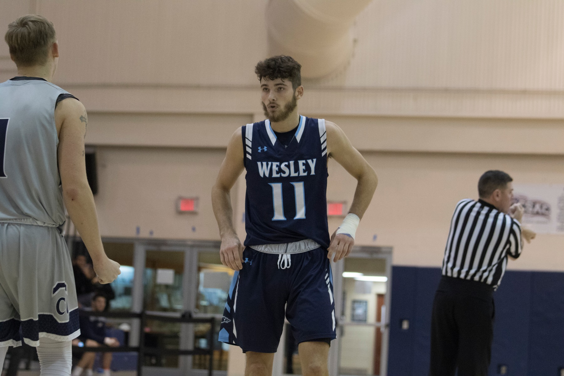 Men's Basketball Takes Game Two with a Come from Behind Win over SUNY-Oneonta