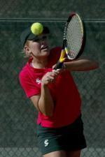 Women's Tennis Closes Home Season with Sweep