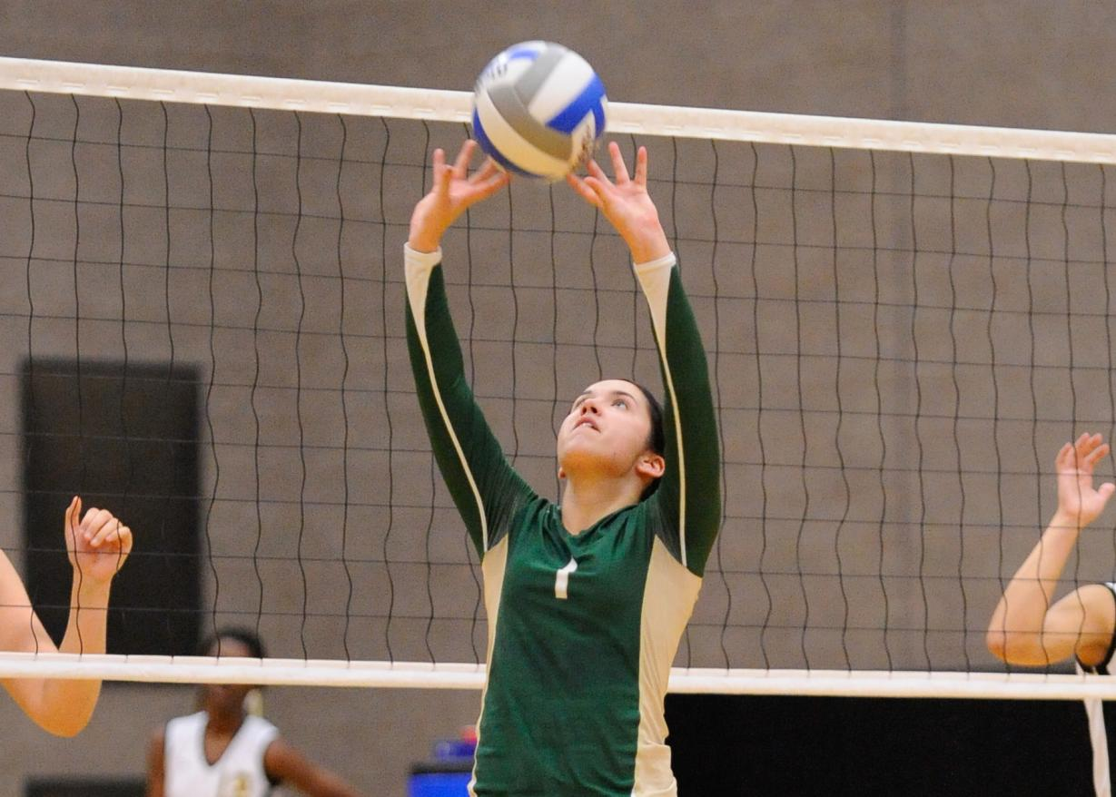 Women's Volleyball Falls to MCLA, 3-0