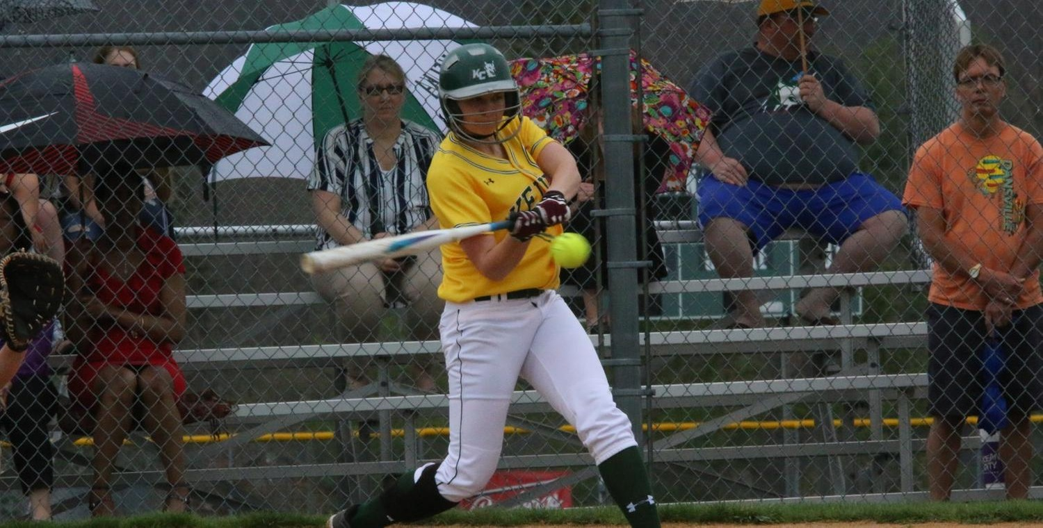 Janessa Vaadi (19) hit a pair of doubles for Keuka College on Thursday -- Photo by Ed Webber