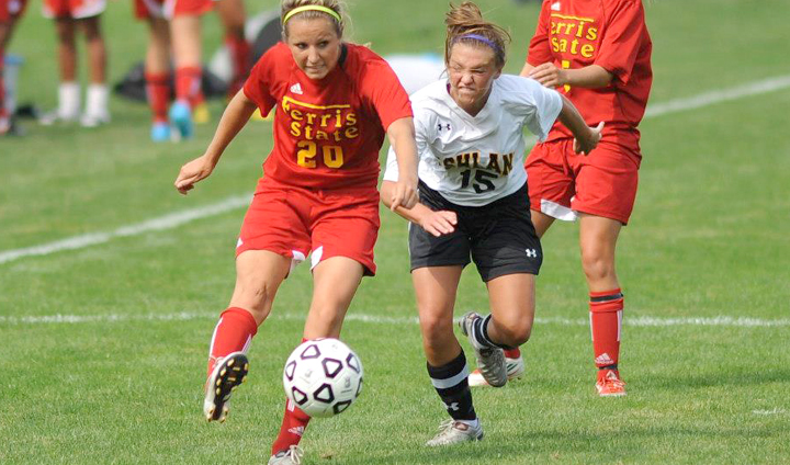 Two Goals From Riley Wood Lift FSU Over Ashland