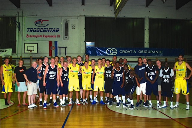 John Saucier '08 recaps game three of the Croatia trip vs KK Sabok