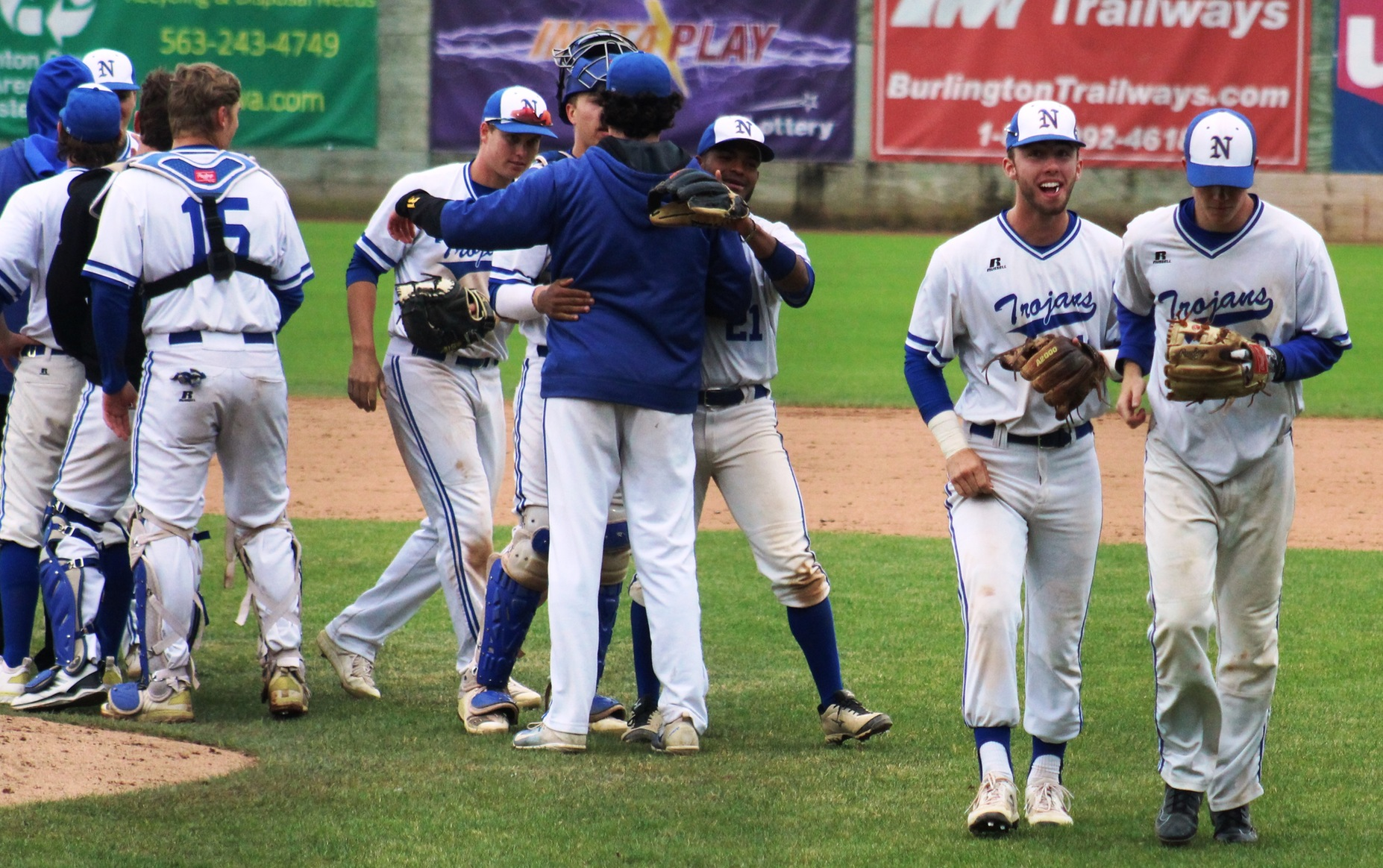 The NIACC baseball team received the 2018 American Baseball Coaches Association Team Academic Excellence Award.