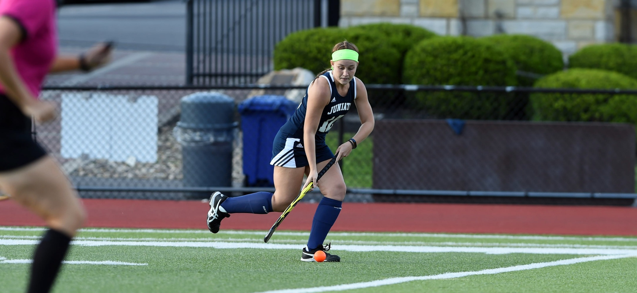 Olivia Marker tallied her sixth goal of the season in the Eagles win over No. 18, W&J.
