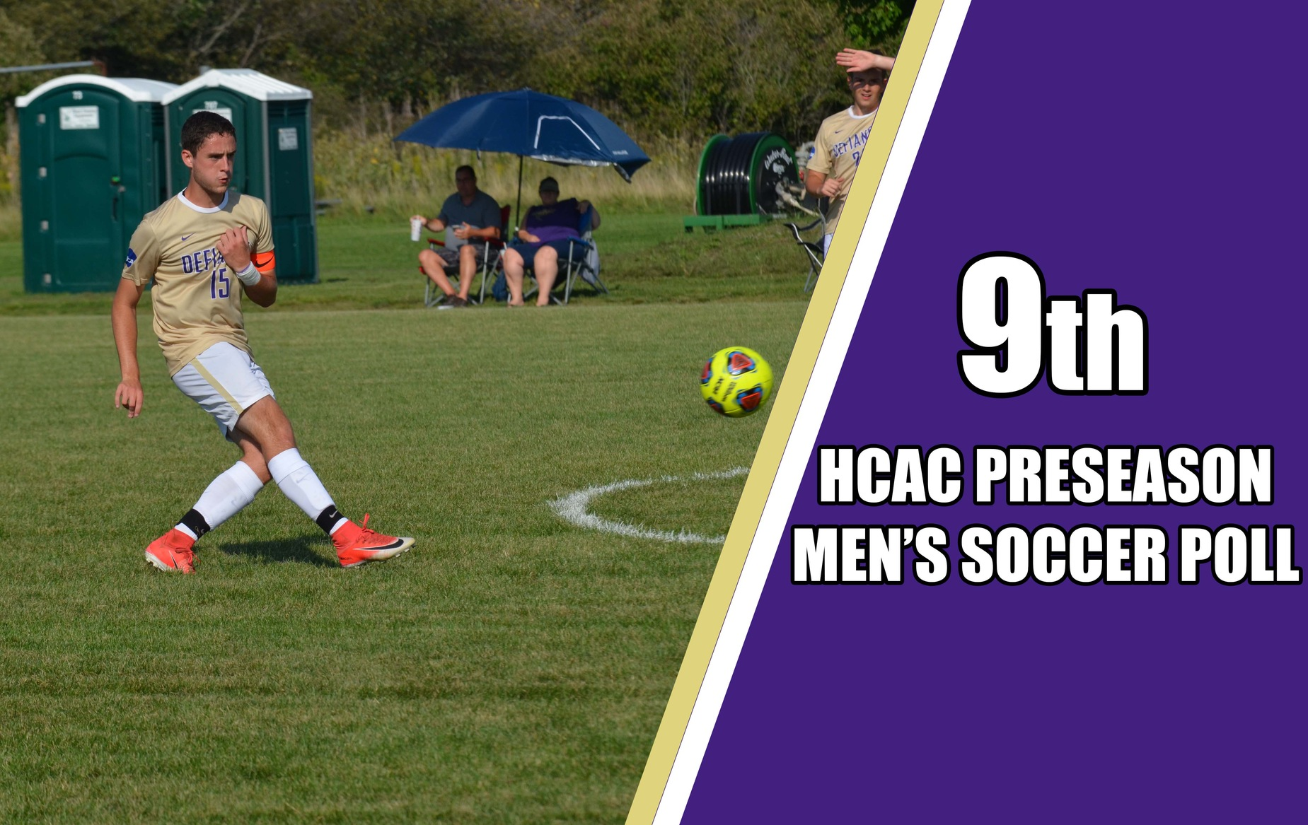 Men's Soccer Tabbed Ninth in HCAC Preseason Poll