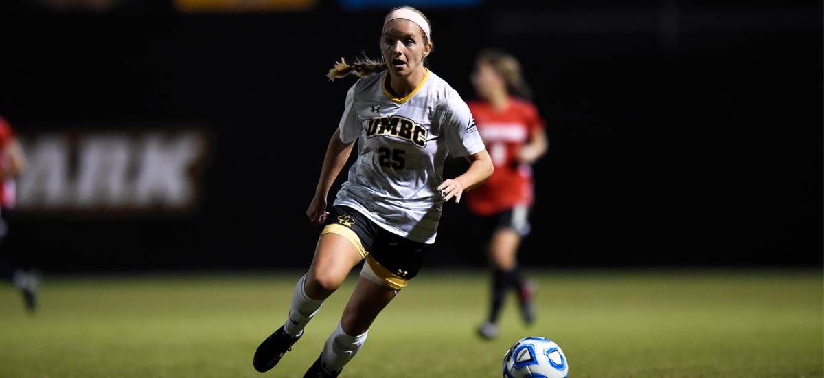 Women's Soccer Notches First Conference Win over Maine, 3-0