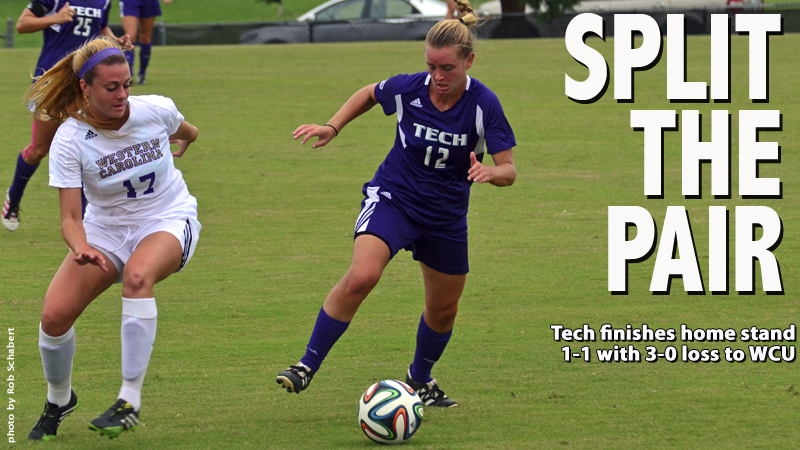 Tech unable to make it two straight victories with 3-0 loss to Western Carolina