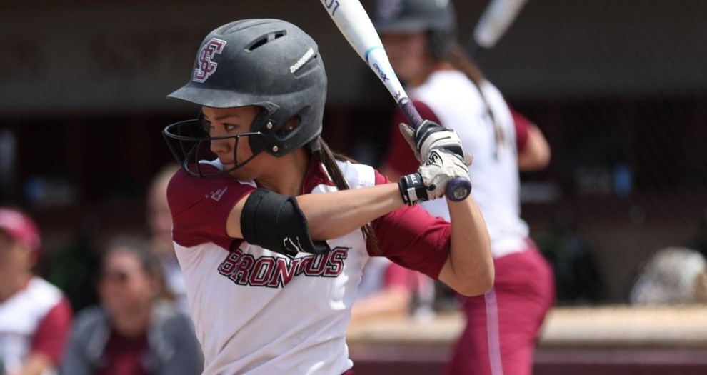 Softball Loses Two Close Games at San Diego