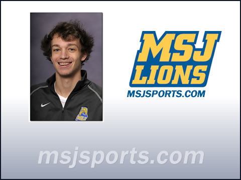Lions' senior tennis player Clayton Steinriede named All-HCAC Honorable Mention